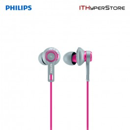 Philips Sports Headphone SHQ2300PK/00 - Pink & Grey