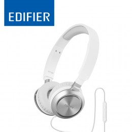 Edifier Headset With Mic c/w Airplane Adapter - M710 -White