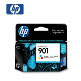 HP 901 Tricolor Ink Cartridge (CC656AA)