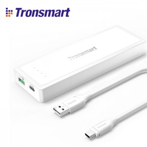 Tronsmart Presto 10400mAh Portable Power Bank with Quick Charge 3.0 Power