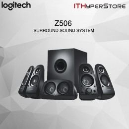 Logitech Z506 Surround Sound Home Theater Speaker System, External TV Speakers