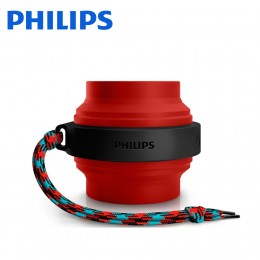 Philips FL3X Bluetooth Wireless Portable Speaker - Red/Blue - BT2000R/00