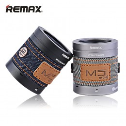 REMAX M5 Denim Mini Outdoor NFC Wireless Bluetooth Speaker With Mic