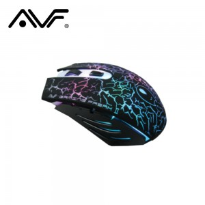AVF X3 GAMING FREAK II 6D LASER MOUSE (3000DPI) USB - BLACK