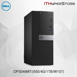 Dell OptiPlex 3046MT-I550/4G/1T-W107PRO Desktop PC/