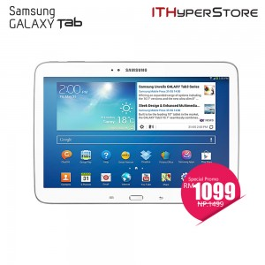 Samsung Galaxy Tab 3 10.1 Wifi+LTE - 16GB (White)