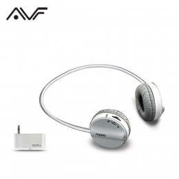 AVF Rapoo H3070 Wireless Headset with Mic (Dual Input Mode) - Grey