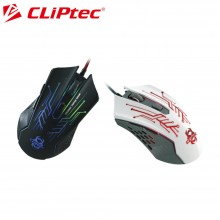 CLIPTEC GAMING MOUSE RGS562 - WHITE