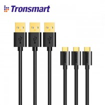 Tronsmart Micro USB to USB Cable 3 Pack - MUPP1