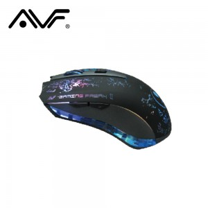 AVF X1 GAMING FREAK II 6D LASER MOUSE  (3000DPI) USB - GREY