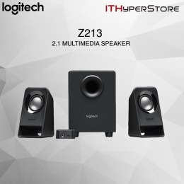 Logitech 2.1 Multimedia Speaker With Subwoofer - Z213