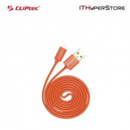 CLiPtec RAINBOW USB 2.0 Micro USB Cable OCC108 - Orange