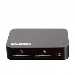 eComtech Toaster Pro WiFi Media Server And Internet Sharing For Iphone And Ipad (Black) - 4892757840031