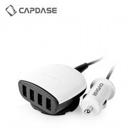 Capdase 4 USB Ports Car Charger 6.2Amp - 31W - Boosta Z4