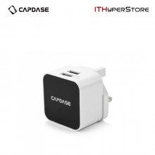 Capdase 2.4 A Dual USB Adapter with 1.2M Lighting Cable - Cube K2