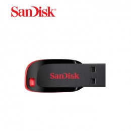 SanDisk Cruzer Blade CZ50 32GB USB 2.0 Flash Drive - RED (SDCZ50-032G-B35)