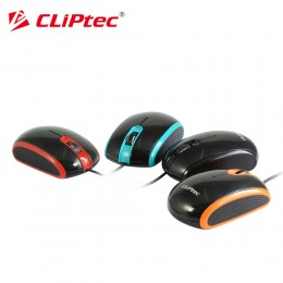 CLiPtec RZS966 SPEED LOGIC 1000dpi USB Wired Optical Mouse (Blue/Red/Orange)