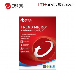 Trend Micro Maximum Security 10 (2016) 1 Year 5 PC