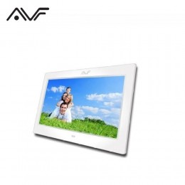 "AVF 10.1"" 1024X600 Digital Photo Frame (APF1001) White"
