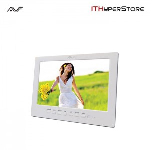 AVF 8 800X600 Digital Photo Frame (APF8000) White