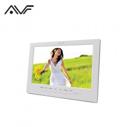 "AVF 8"" 800X600 Digital Photo Frame (APF8000) White"