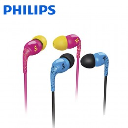 Philips SHO1100 THE SHOTS in-ear headphones O'Neill (Blue / Pink)