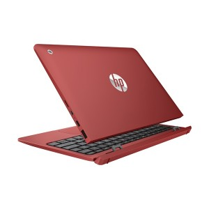 HP X2 Detachable 10-P020TU (ATOM Z8350,2GB,500GB+32 EMMC,10'',WIN10) - Red