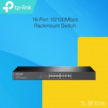 TP-Link TL-SF1016 16-Port 10/100Mbps Rackmount Switch