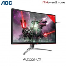 "AOC Agon 31.5"" AG322FCX FreeSync Curved Gaming Monitor"