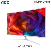 "AOC C4008VU8 40"" Curved 4K LED Monitor"