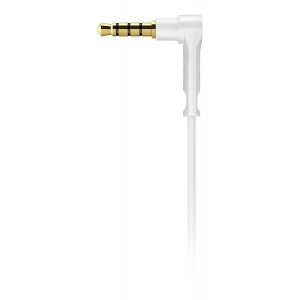 Philips SHQ4305WS/00 Sport Neckband In-Ear Headphone with Built-In Mic (Black White)