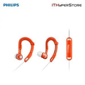 Philips SHQ3305OR/00 ActionFit Sports Headphones With Mic