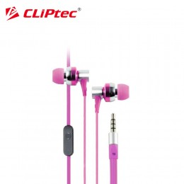 CLiPtec BME757 G-HALLO In-Ear Earphone with Microphone (Pink)