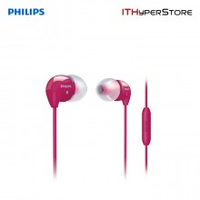 Philips Wired Earphone Dynamic Bass SHE3515PK/00 (Pink)