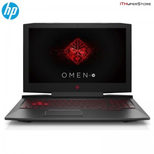 "HP Omen 17-An023TX 17.3"" FHD IPS Gaming Laptop (I7-7700HQ, 16GB, 256GB + 1TB, GTX 1070 8GB, W10H)"