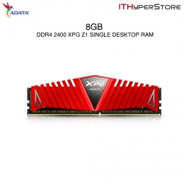 ADATA Z1 Single DDR4 2400 8GB Gaming Desktop RAM (RED)
