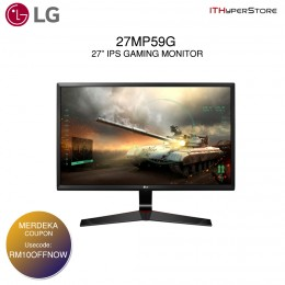 "LG 27"" IPS LED Display With Full HD Gaming Monitor (27MP59G)"