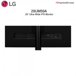 """LG 29"""" IPS Display With Full HD Monitor (29UM59)"""