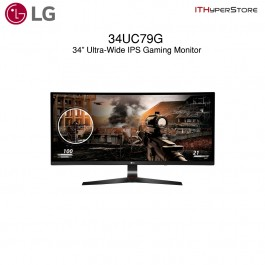 "LG 34"" UltraWide Gaming Curve 144Hz LED Monitor (34UC79G)"