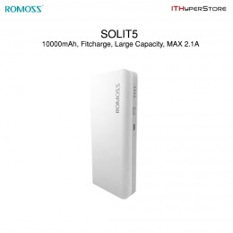 ROMOSS SOLIT5 FitCharge Dual USB Power Bank - 10000mAh