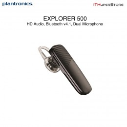 Plantronics Explorer 500 Dual Microphone Bluetooth v4.1 Wireless Headset