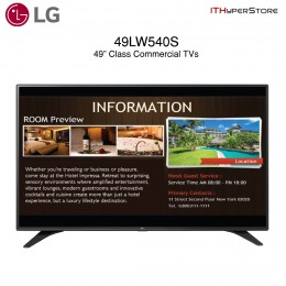 LG 49LW540S 49 INCH LFD class (46.3 diagonal) Commercial LED TV Display (CALL FOR INQUIRY)