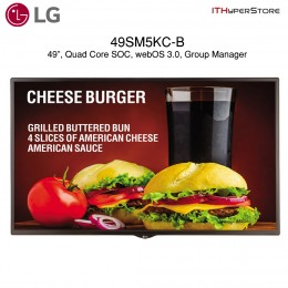 "LG LED 49SM5KC-B 49"" FHD 1920x1080 450Nit HDMI Digital Signage (CALL FOR INQUIRY)"