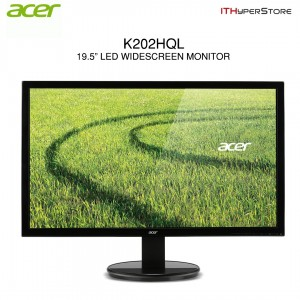 Acer K202HQL LED Monitor (VGA) - 19.5 HD (UM.IX3SM.A01 - Black)
