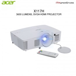 ACER X117H 3600 Lumens, SVGA HDMI Projector