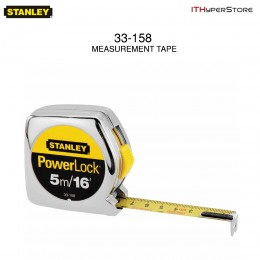 Stanley 33-158 5m/16 x 3/4-Inch PowerLock Tape Ruler
