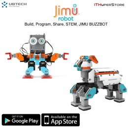 UBTECH Jimu Robot DIY Smarty Buzzbot/Muttbot Robotics Kit