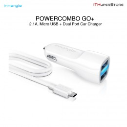 Innergie PowerCombo Go Plus, Micro USB & Car Charger (AC15)