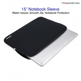 "Best Selling 15"" Notebook Sleeve, Lenovo Laptop Protection Sleeve Black Free Shipping"