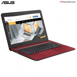 "Asus VivoBook Max X441U-AWX317T 14"" Laptop Red (I3-6100u, 4GB, 500GB, Intel, W10H )"